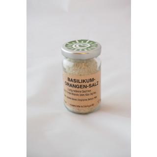 Orangen Basilikum Salz 90g