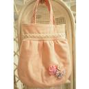 Kindertasche rosa Blümchen