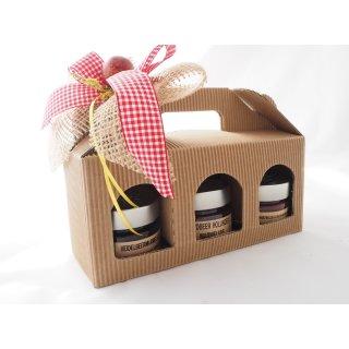 3er - Geschenkpaket Marmeladen