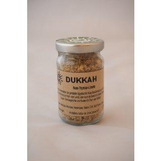Bio Dukkah Tyhmian Limette 50 g